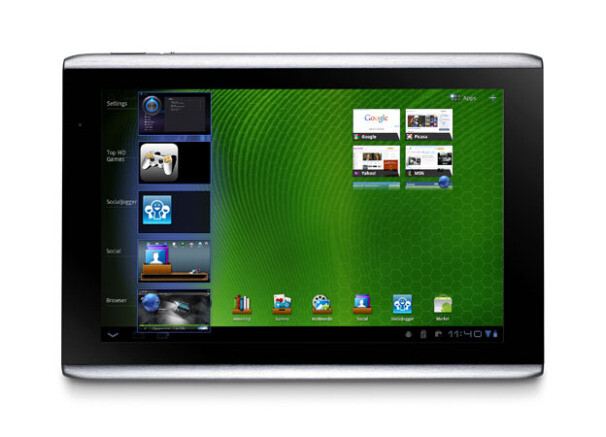 The Acer ICONIA TAB A500 will get ICS - Android 4.0 rollout starts for Acer ICONIA TAB models