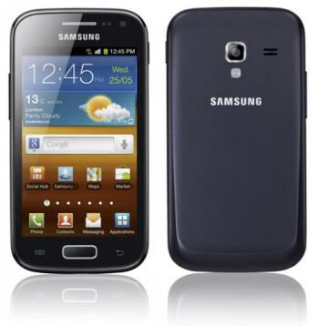 The Samsung GALAXY Ace 2 (L), Samsung GALAXY mini 2 (R)