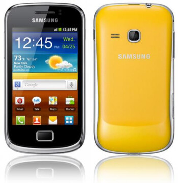The Samsung GALAXY Ace 2 (L), Samsung GALAXY mini 2 (R)