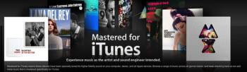 Apple launches Mastered for iTunes section