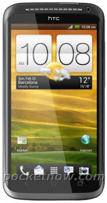 An image said to be that of the HTC One X