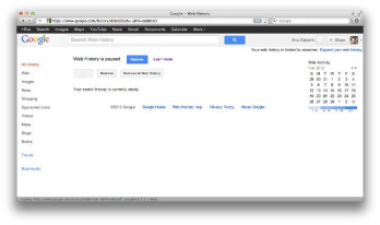 Here's how to delete your Google Web search History