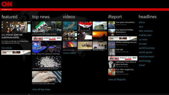 This is CNN, for Windows Phones