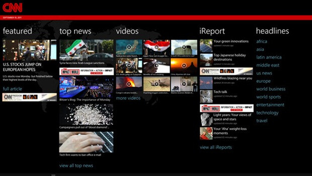 This is CNN, for Windows Phones - Windows Marketplace: This is CNN