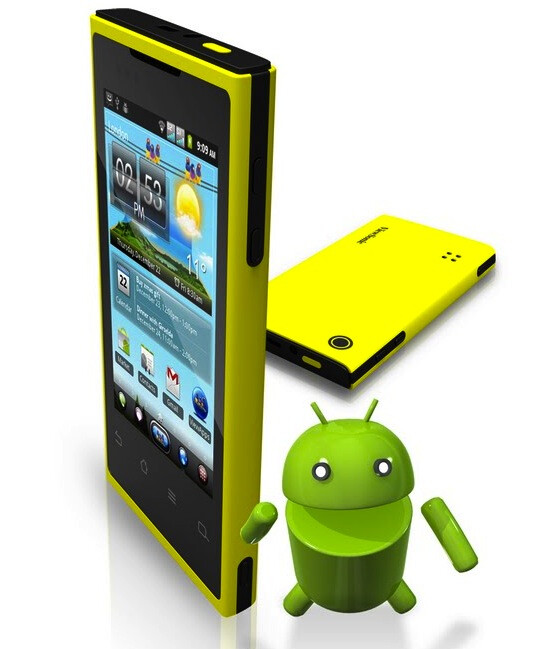 ViewPhone 4e - ViewSonic borrows the iPhone Retina Display for an Android phone, to out five more devices