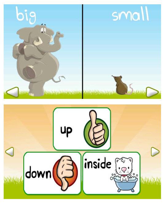 Opposite Words Kids Game
