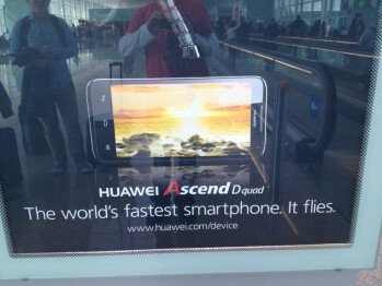 The quad-core Huawei Ascend D quad snapped