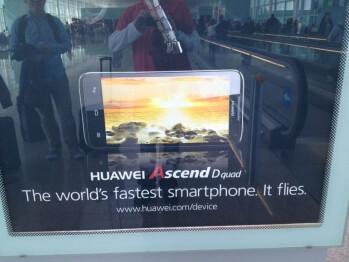 The quad-core Huawei Ascend D quad snapped