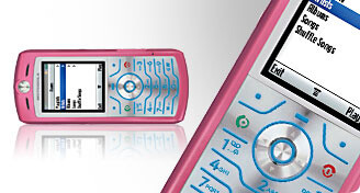Pink Motorola L7 launched by Cingular