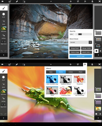 Adobe Photoshop Touch lands on iPad