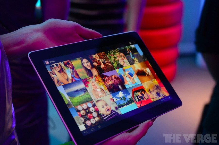 Huawei MediaPad 10 steals the spotlight with 1920x1200 display, quad-core K3 chipset and LTE