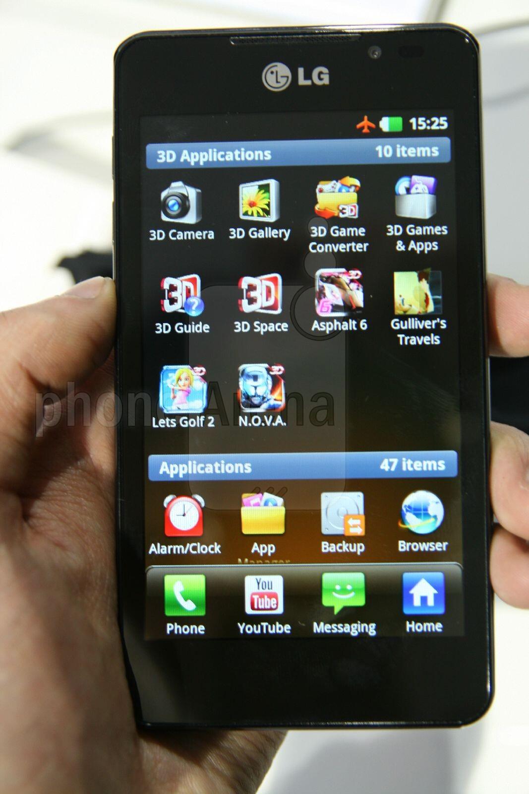 LG Optimus 3D MAX Hands On Review PhoneArena Reviews