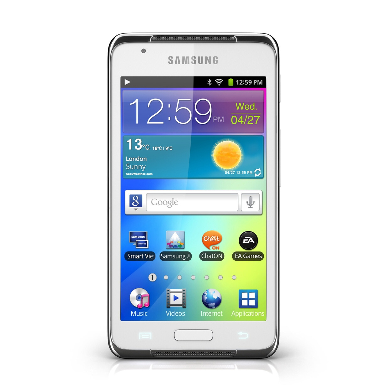 Samsung Galaxy S WiFi 4.2 portable Android media player is