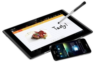 "Asus PadFone slides into a tablet screen with its slim body, 4.3"" Super AMOLED display and Snapdragon S4 silicon"