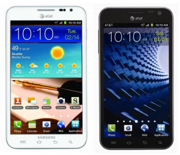 Samsung Galaxy S II (L, LC) and the Samsung GALAXY Note LTE (RC,R)