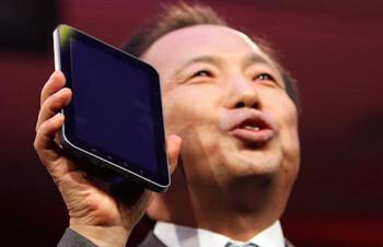 Samsung president J.K. Shin
