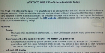 $50 will reserve you an HTC One XL at Best Buy