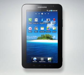Samsung GALAXY Tab 2 (L), Samsung GALAXY Note 10.1 (R)