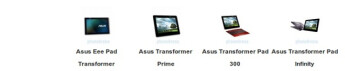Spec comparison: Asus Eee Pad tablets updated with high-res Infinity and affordable quad-core 300 series