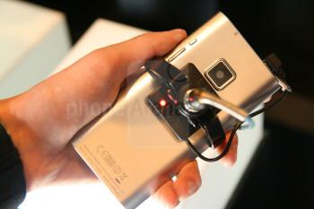 Panasonic boasts that the ELUGA comprises of 66% screen