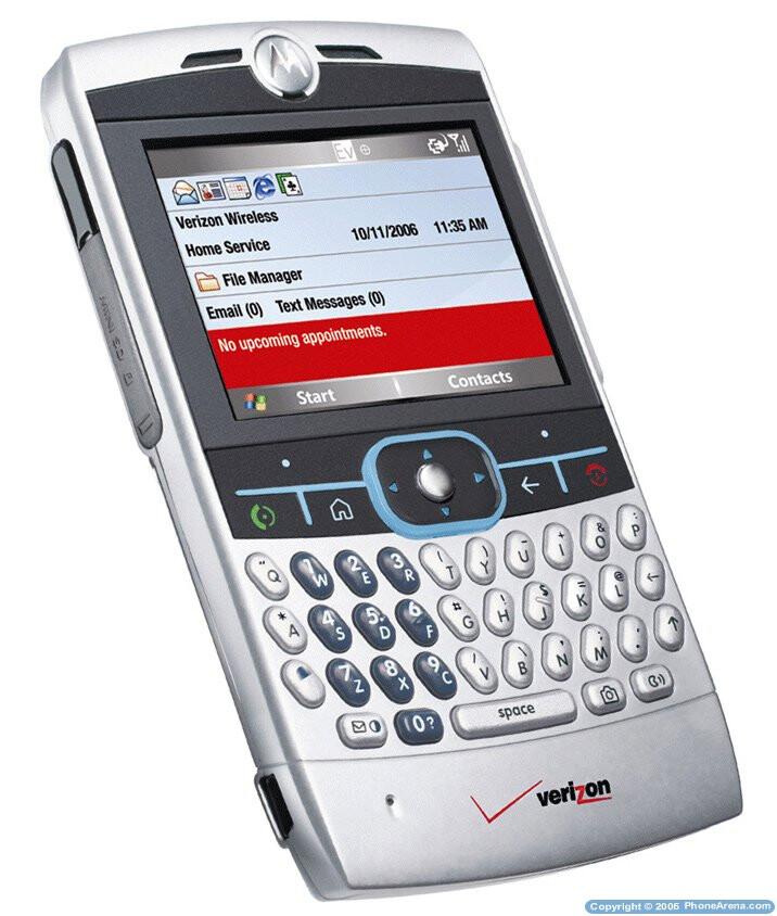 Motorola Q exclusively on Verizon this month