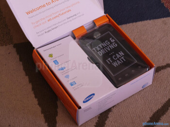 Samsung Rugby Smart unboxing and hands-on