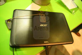 The Acer Iconia Tab A700 has a great HD display