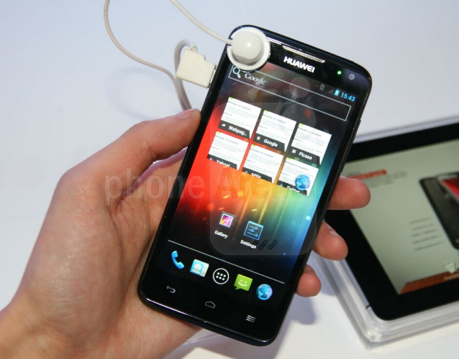 The Huawei Ascend D quad has a quad-core processor and a 4.5-inch HD display - Could Huawei become the next HTC?