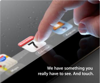 Invite to Apple's March 7th event