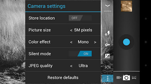 Camera ICS+ for Android - Ice Cream Sandwich camera comes to Gingerbread and Froyo thanks to Camera ICS+