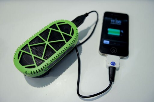 Fully charge your phone with a spoonful of water