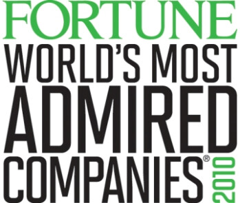 Apple was Fortune's Most Admire Company in 2010, 2011 and now 2012