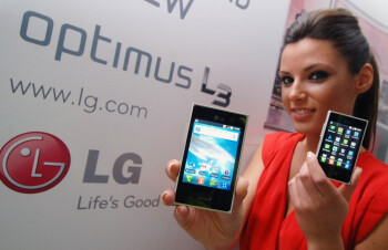 The LG Optimus L3 is coming to Europe this month