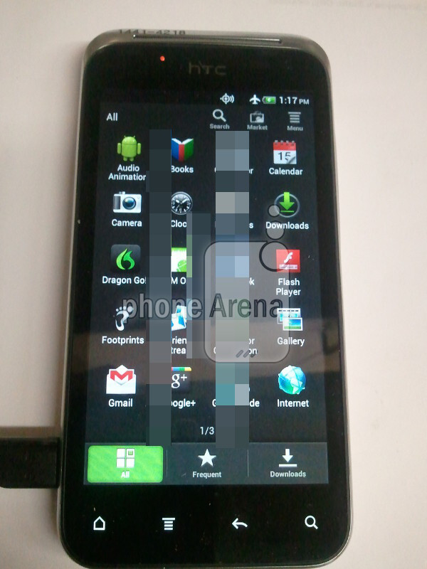 Is this the Droid Incredible 4G? - Coming to Verizon: HTC DROID Incredible 4G, LG Lucid 4G and Blue Motorola DROID RAZR