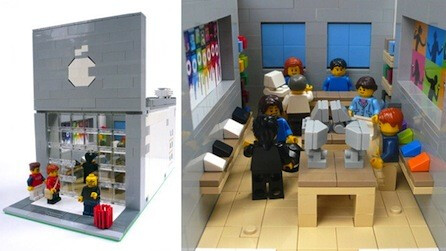 Will the Lego Apple Store garner enough votes to go into production? - Lego Apple Store needs plenty of votes to end up in production