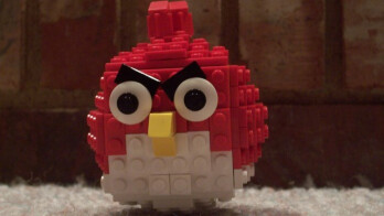 Lego version of an Angry Bird