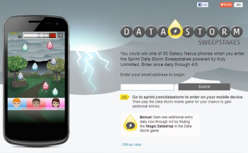 30 Samsung Galaxy Nexus smartphones are up for grabs, courtesy of Sprint