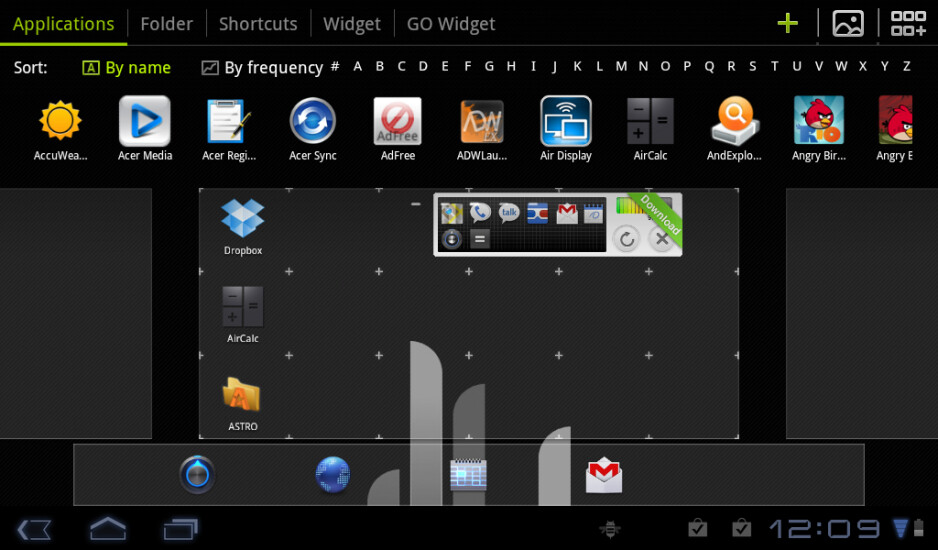 GO Launcher brings custom launcher to tablets with HD Beta