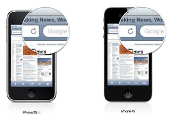 Example of Apple's Retina display