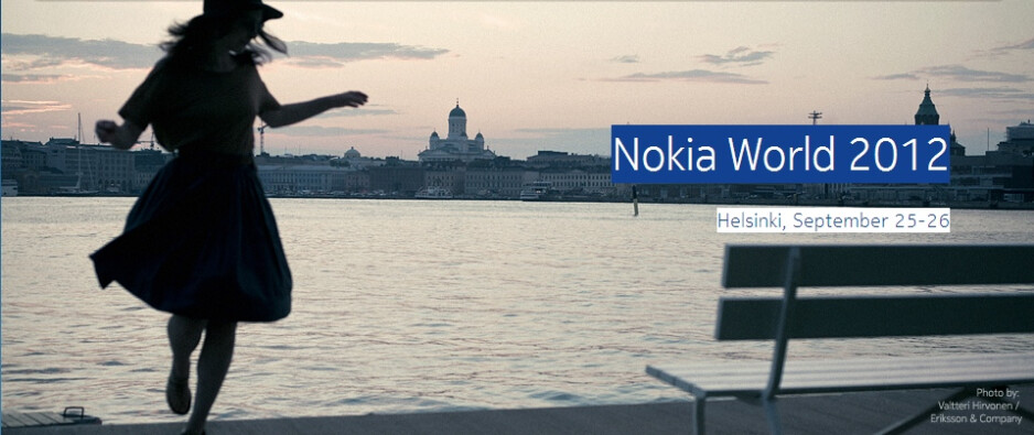 The Nokia World 2012 event will take place in Helsinki, Finland - Nokia World 2012 event announced for September 25-26