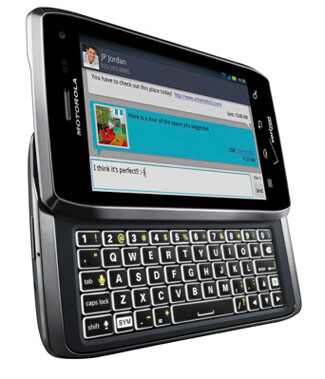 The Motorola DROID 4 was a late addition to the ICS list