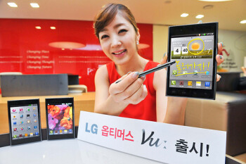 LG Optimus Vu goes on sale in Korea for the astronomical price of $890