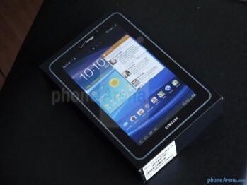 Samsung Galaxy Tab 7.7 LTE unboxing