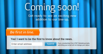 AT&T says get ready for an exciting new addition to its lineup
