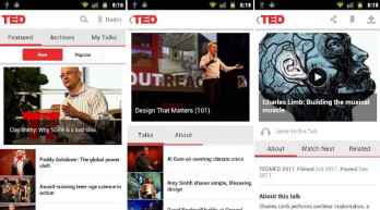 Official Android TED app now available