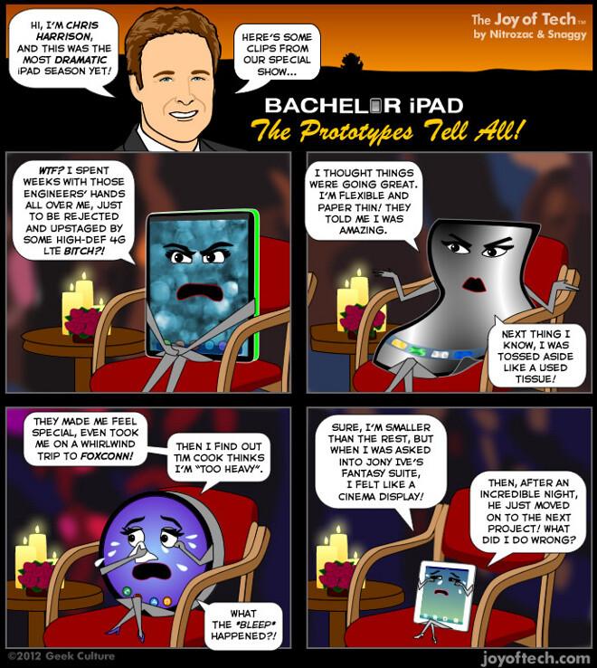 The most dramatic iPad season comes to a close: comic