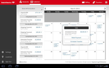 Bank of America spreads the love to Android tablet owners with a dedicated banking app