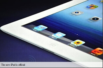 Apple iPad 3 is announced