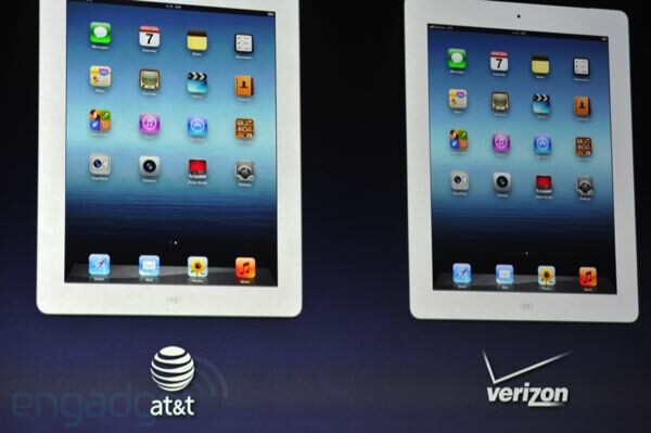 The iPad is the first Apple device to get LTE connectivity - Apple iPad 3 is announced