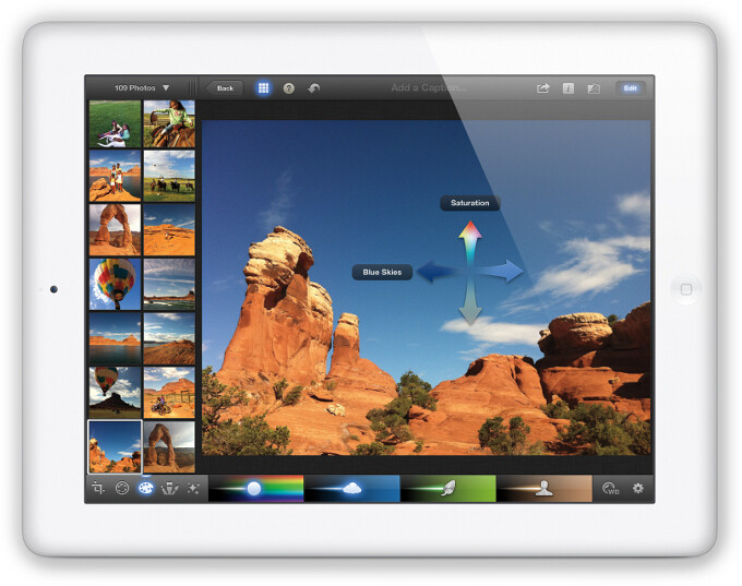 Apple unveils iPhoto for iOS